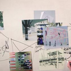 Peter Aeschbacher draws a diagram online